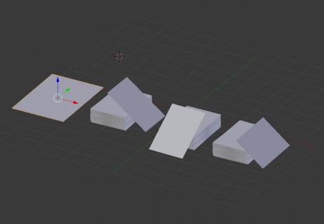 3D models blender